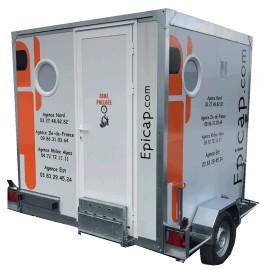 Unité de décontamination amiante mobile EPIROLL 3M 750 kg