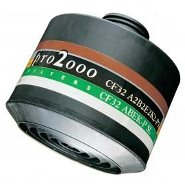 CF32 A2B2EK2-P3 gaz et vapeurs organique et inorganiques PRO2000 Adaptable Au système PROFLOW