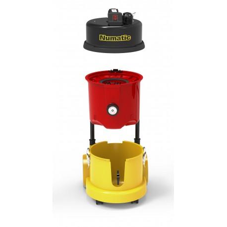 Type H ac Cartouche de filtration Jetable Aspirateur NUMATIC HZC390L