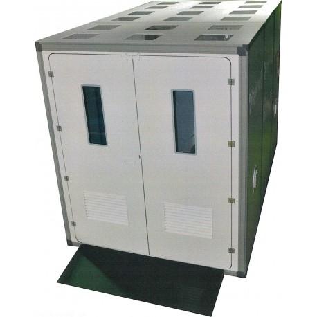 SAS de décontamination Matériel 3Compartiments - Conforme ED6307 livré complet