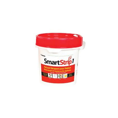 SMART STRIP Rouge 15L 10m²+10 feuilles papier laminé Amiante et Plomb