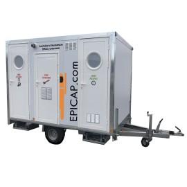 Unité Mobile de Décontamination EPIROLL750 (750 kg / 3 mètres) gaz conforme ED 6244