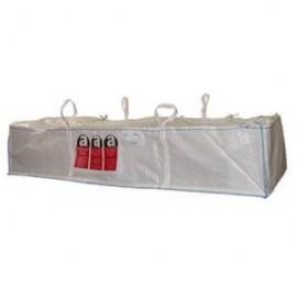 DEPOT BAG 1T marqué amiante 230 x 110 x 30cm
