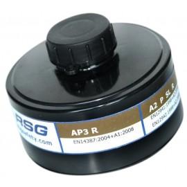 Filtre à particules A2P3 gaz et vapeurs organique RSG