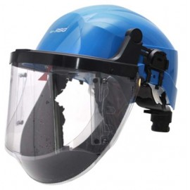 RSG T-Air®Visor COMBI avec casque de sécurité intégré, visière acétate