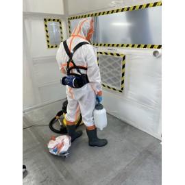 Système RSG T-AIR C ac Masque RSG400-harnais-tuyau- renfort dorsal