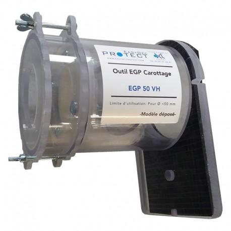 Tube de Carottage pour gel complet Vertical et Horizontal Ø 150mm