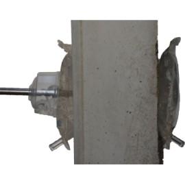 Kit gel percement débouchant Ø inférieur à 16 mm (percemement + réception) Easygel Protect