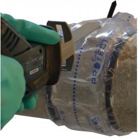 Ceinture Gel pour découpe canalisation inférieure au Ø 125mm - 125x600mm EasyGel