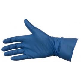 Gants nitrile vinile VI-NI bleus à usage unique boite de 100 pièces taille 9