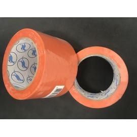 Ruban PVC orange de protection 75mm x 33m