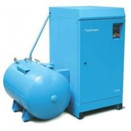 Compresseur rotatif à palettes sur cuve © hydrovane : HV18 ACER