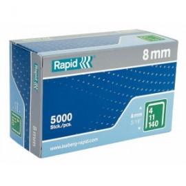 Agrafes RAPID 140/08mm pour agrafeuse manuelle lot de 5000