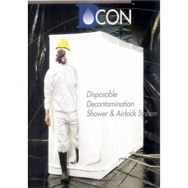SAS DE DECONTAMINATION JETABLE DCON 3 (BACHE PLASTIQUE)