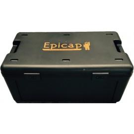 Caisse plastique EPICAP pour le transport et le stockage des masques