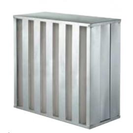 Filtre THE H14 (610x610x292 mm) Forme V, 5000m3/h, pour EPI AIR 50