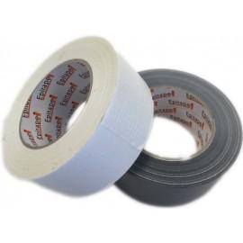 Ruban toilé polyéthylène Argent 48mm x 50y GREATAPE film 165µ