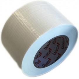 Ruban toilé polyéthylène Blanc 72mm x 50y GREATAPE film 165µ