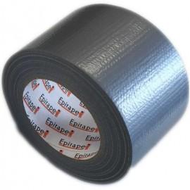 Ruban toilé polyéthylène Argent 72mm x 50y GREATAPE film 165µ