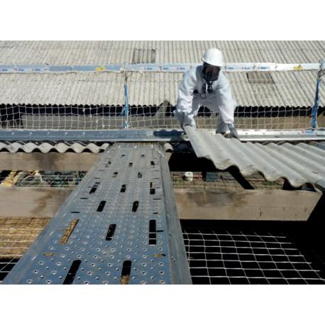 Kit Alu SECURIPLAC (Kit 3 planchers + kit Fixation) pour toiture en Fibrociment amianté