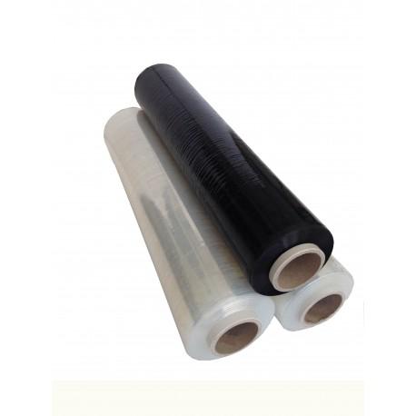 film polyéthylène étirable noir 450mm x 300m 17µ (6 rouleaux)